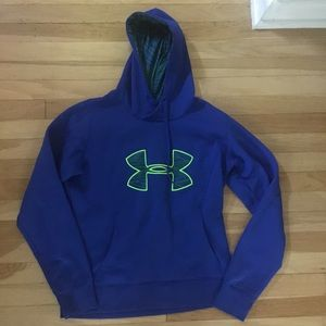 Under Armour Storm Blue Hoodie